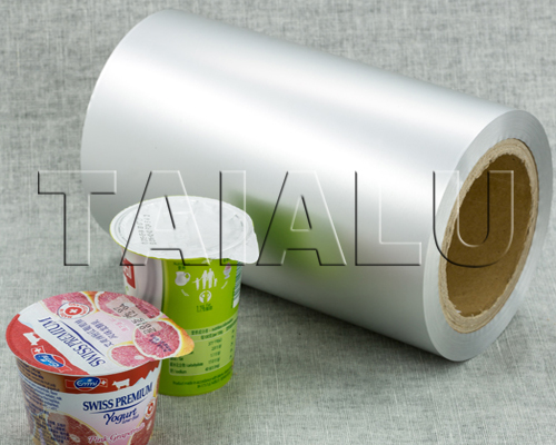 Aluminium Foil for Yogurt Cups Lidding Seal