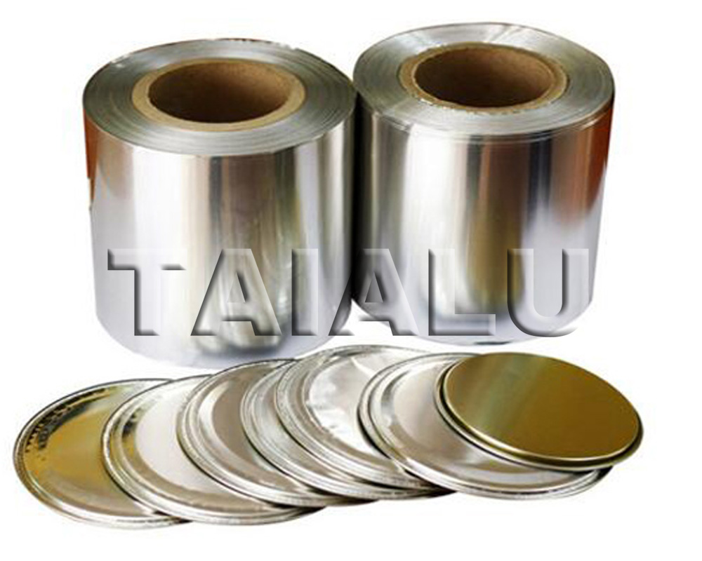 Coated Aluminum Lidding Foil for Powder Milk Can